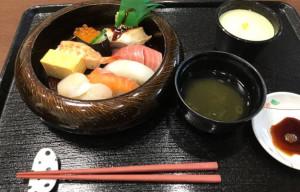 出前ランチ(寿司)1