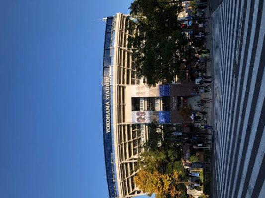 実験 実証 横浜 スタジアム